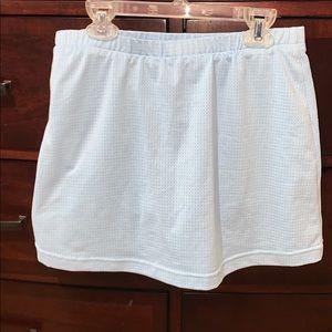 Nike Skirts - VINTAGE Nike Tennis Skirt- Baby Blue